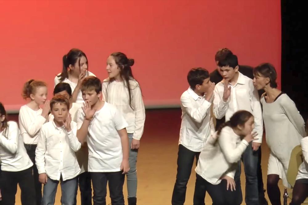 Demain, fin du quatorzième stage «Comédie musicale» de La musique de Léonie!