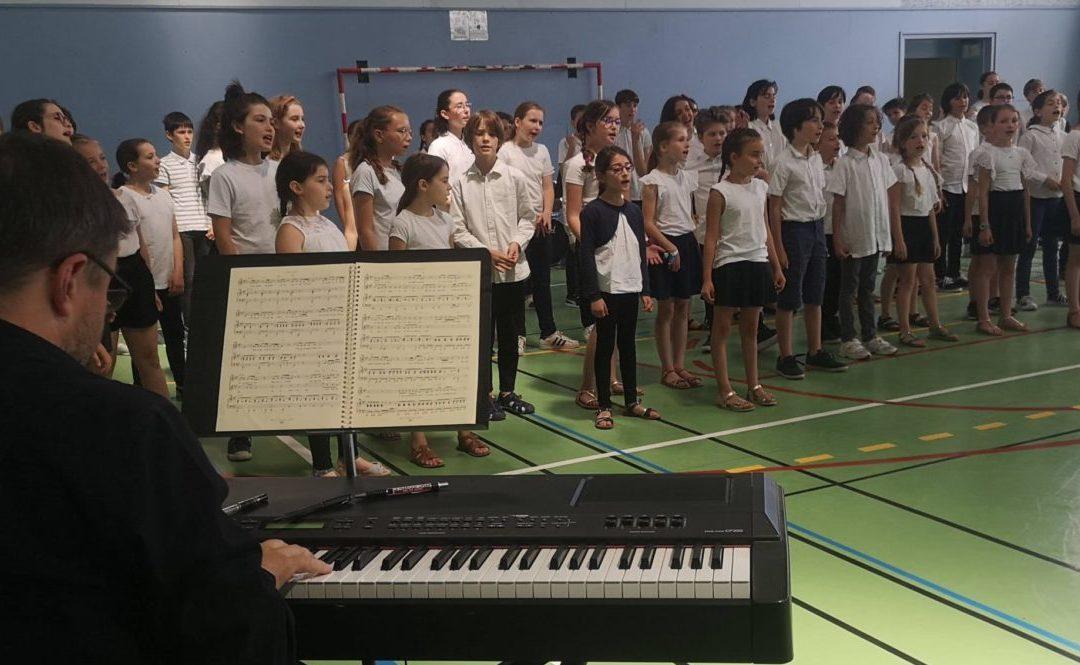 """Retour sur le stage """"Comédie musicale"""", juillet 2021"""